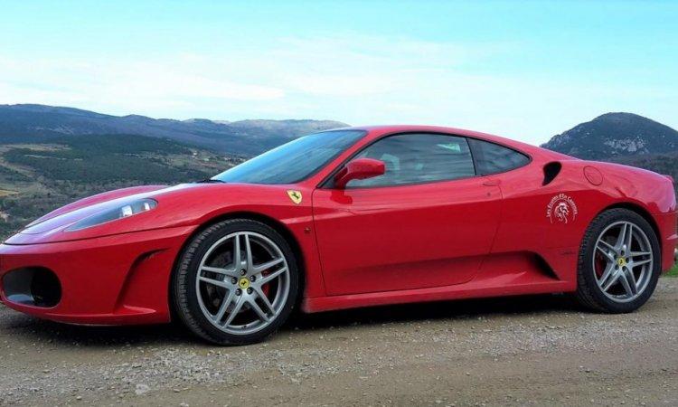 Baptêmes passagers en Ferrari